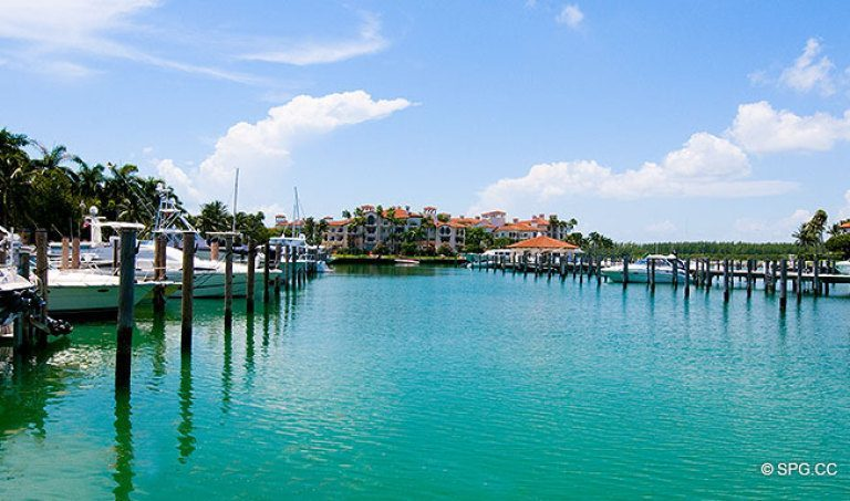 Fisher Island's Deep Water Marina