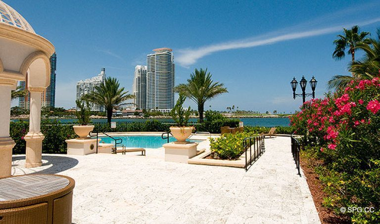 Fisher Island, is a Short Ferry Ride to Miami Beach