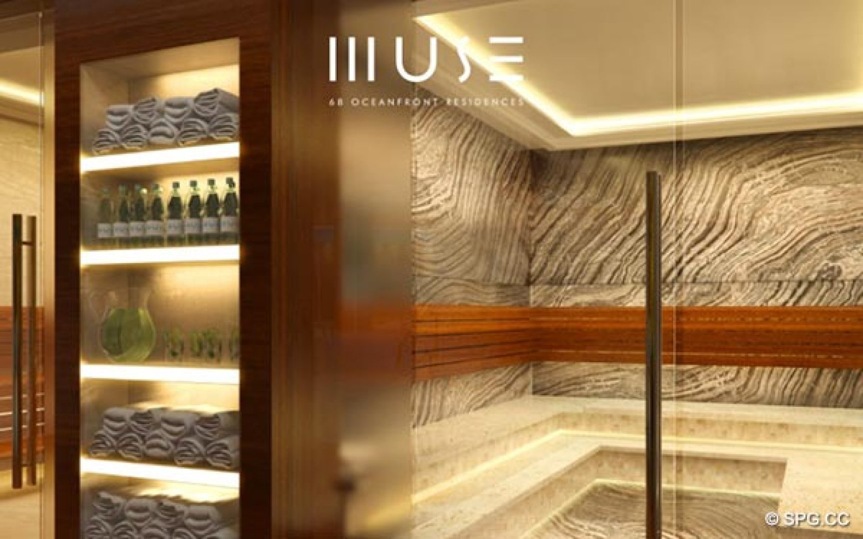 Muse Gym, Luxury Oceanfront Condominiums Located at 17141 Collins Ave, Sunny Isles Beach, FL 33160