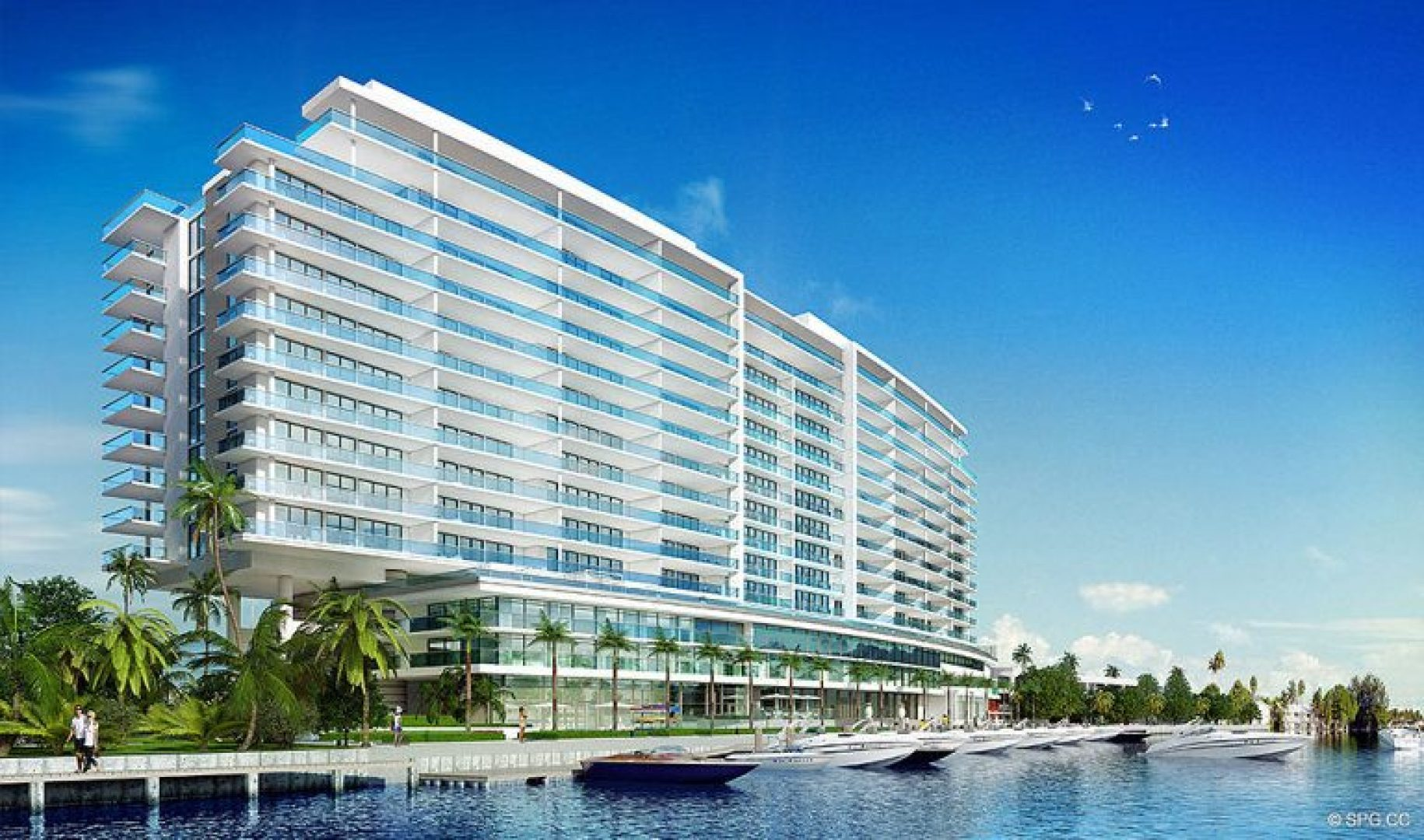 Concept Design for Riva, Luxury Waterfront Condos in Fort Lauderdale, Florida 33304.