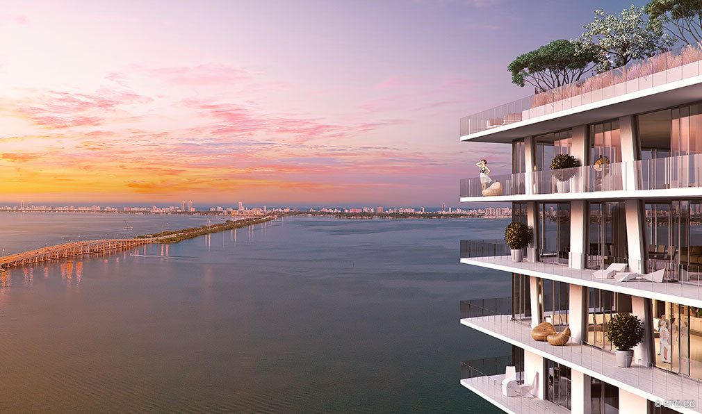 Spectacular Views at Paraiso Bayviews, Luxury Seaside Condos in Miami, Florida 33137