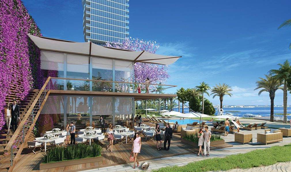 The Beach Club at Paraiso Bayviews, Luxury Seaside Condos in Miami, Florida 33137