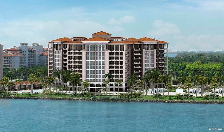 The New Palazzo del Sol, Luxury Waterfront Condominiums Located on Fisher Island, Miami Florida 33109