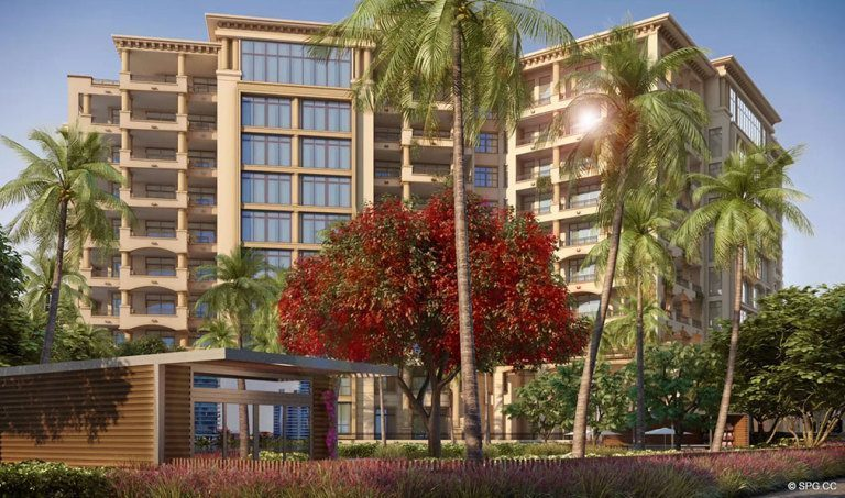 Palazzo del Sol, Luxury Waterfront Condominiums Located on Fisher Island, Miami Florida 33109
