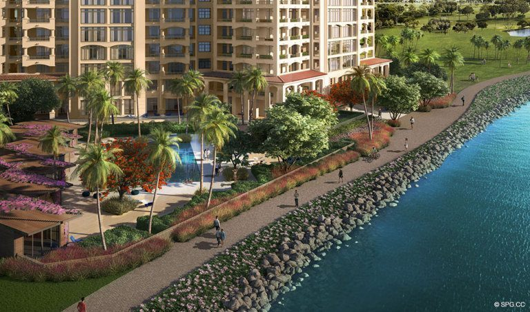 The Spectacular Palazzo del Sol, Luxury Waterfront Condominiums Located on Fisher Island, Miami Florida 33109