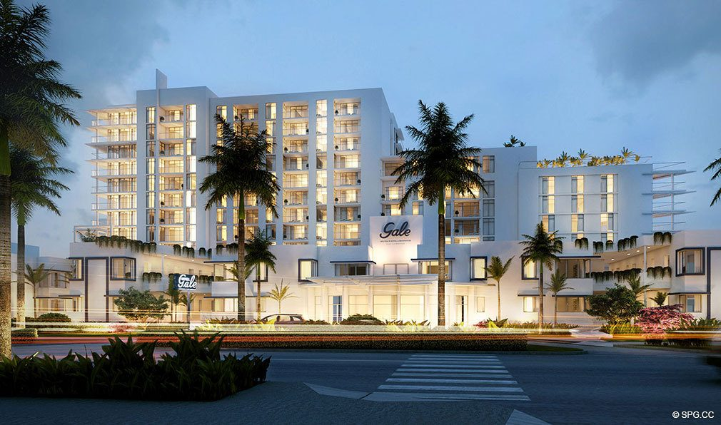 Street View of Gale Hotel and Residences, Luxury Waterfront Condos in Fort Lauderdale, Florida 33304