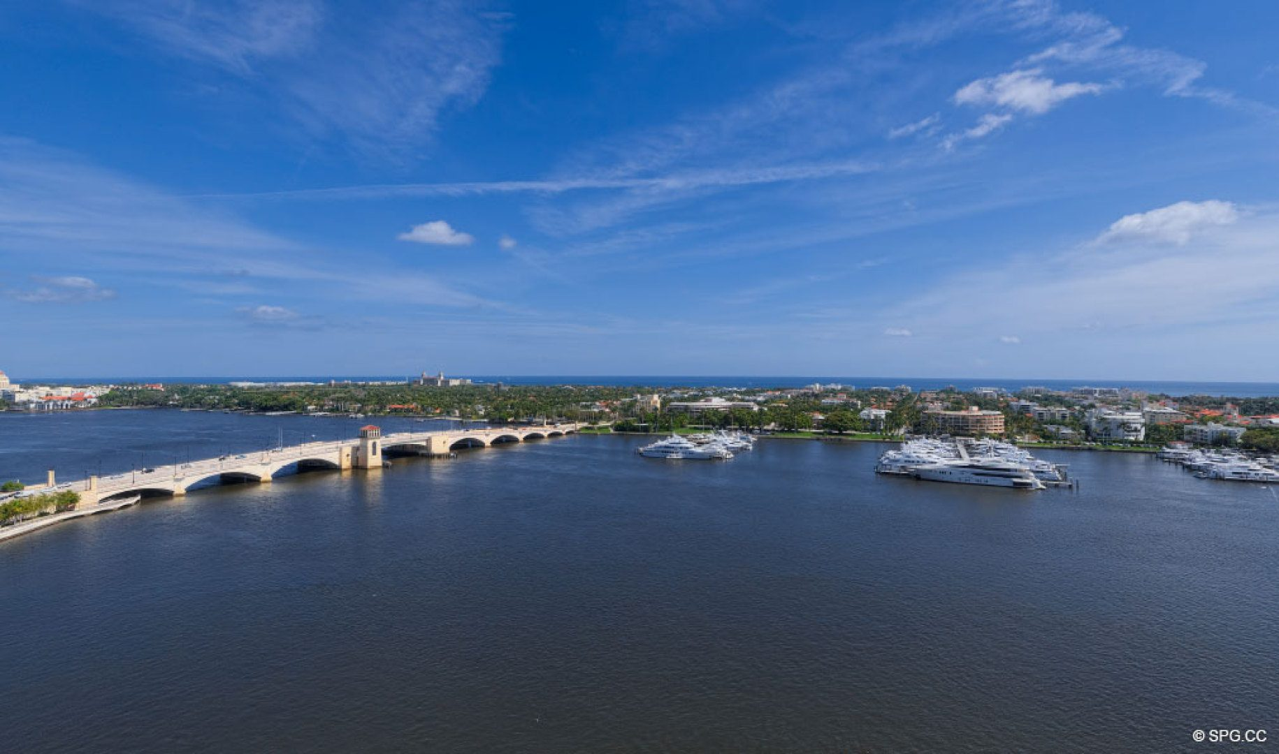 Eastern Views from The Bristol, Luxury Waterfront Condos in West Palm Beach, Florida 33401