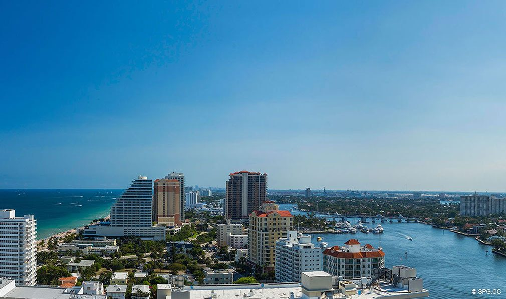 Southern Views from The W Fort Lauderdale, Luxury Oceanfront Condos in Fort Lauderdale, 33304