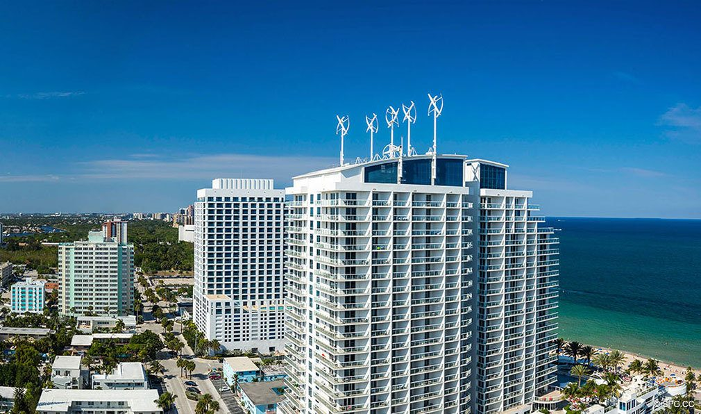 Northern Views from The W Fort Lauderdale, Luxury Oceanfront Condos in Fort Lauderdale, 33304