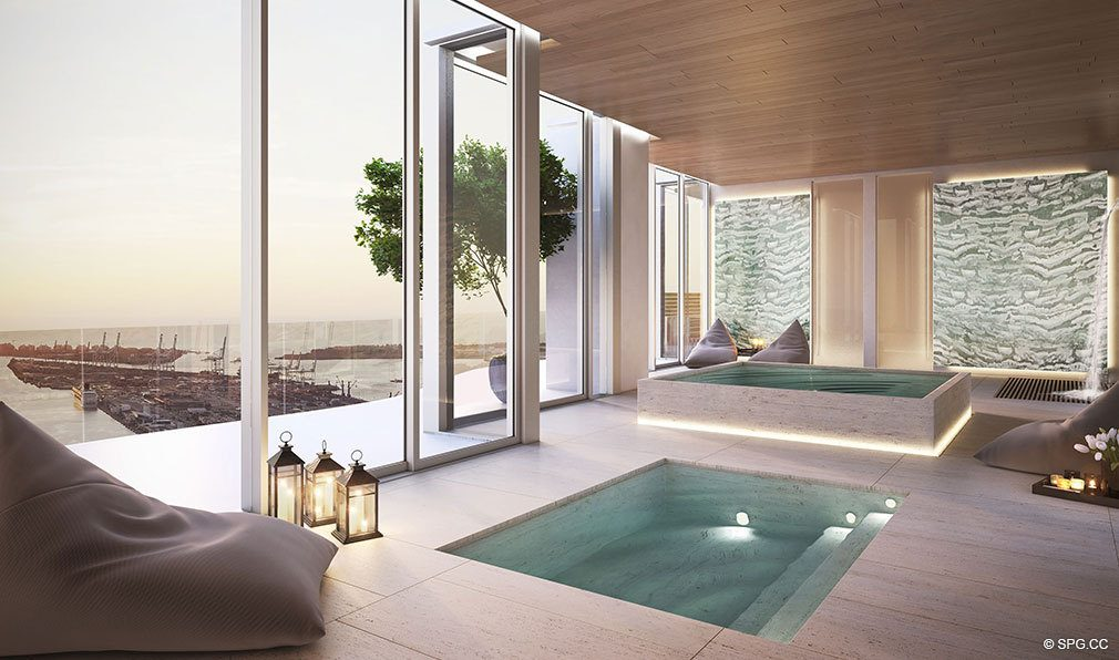 Luxurious Spa Services at Auberge Residences and Spa Miami, Luxury Seaside Condos in Miami, Florida 33132.