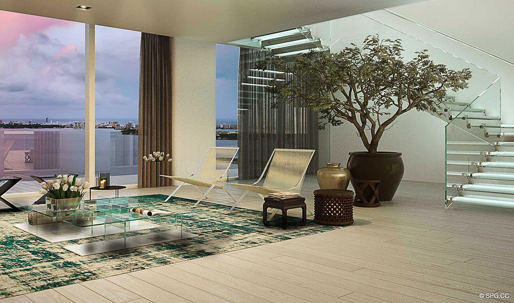 Residence at Auberge Residences and Spa Miami, Luxury Seaside Condos in Miami, Florida 33132.