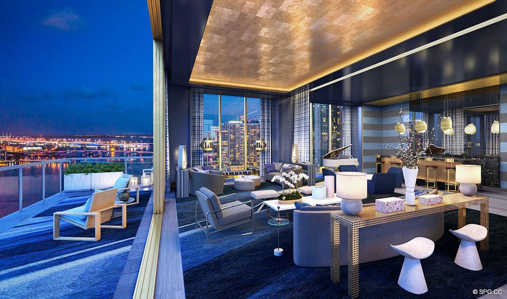 Nights at Elysee, Luxury Waterfront Condos in Miami, Florida 33137