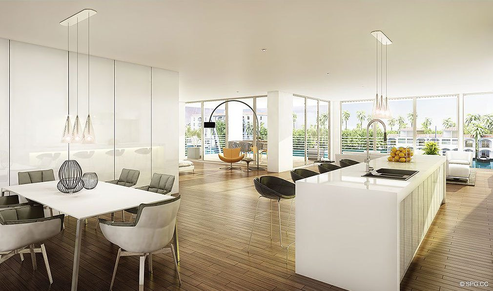 Interior Design Concept for AquaVue Las Olas, Luxury Waterfront Condos in Fort Lauderdale, Florida 33301