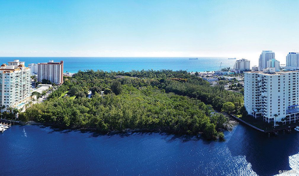 Spectacular Views from AquaBlu, Luxury Waterfront Condos in Fort Lauderdale, Florida 33304