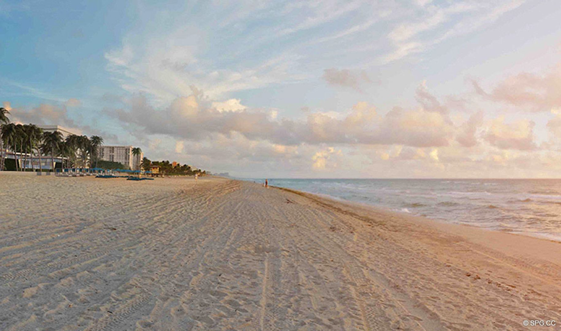 Live Directly on the Sand at Sage Beach, Luxury Oceanfront Condos in Hollywood Beach Florida 33019