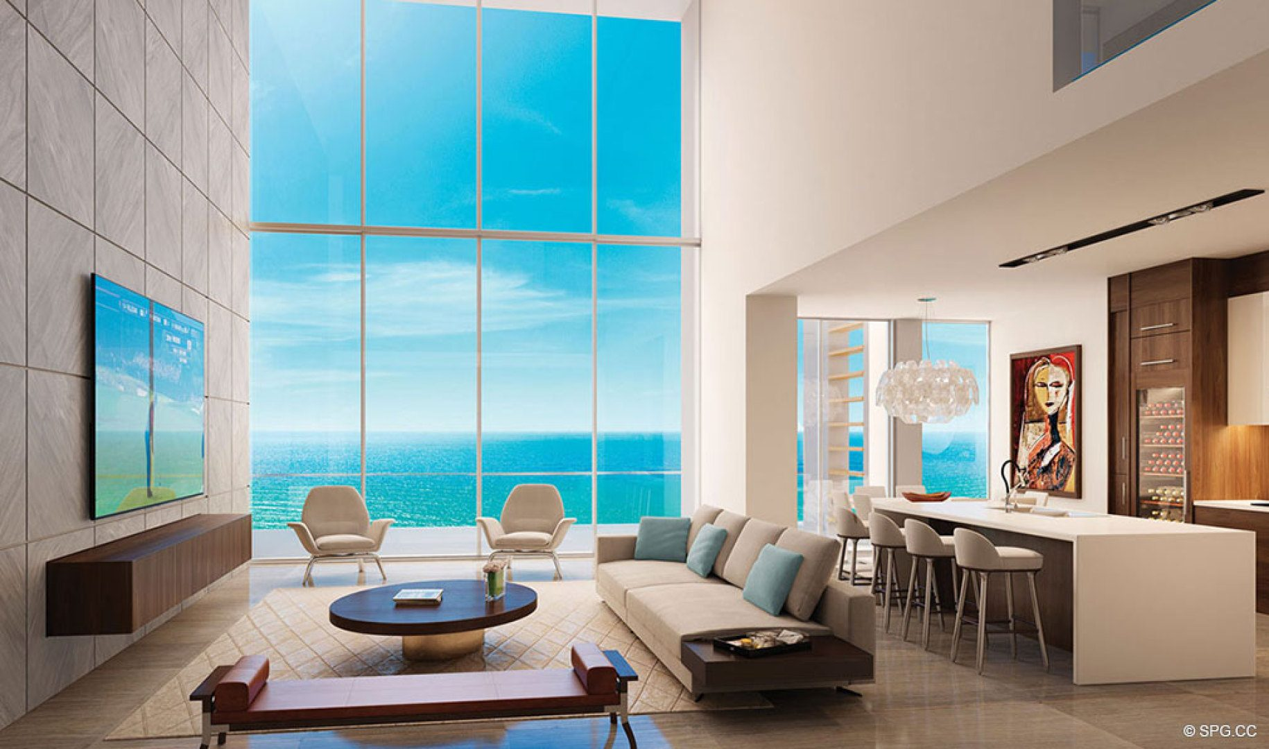 Spectacular Residence at 5000 North Ocean, Luxury Oceanfront Condos in Riviera Beach
