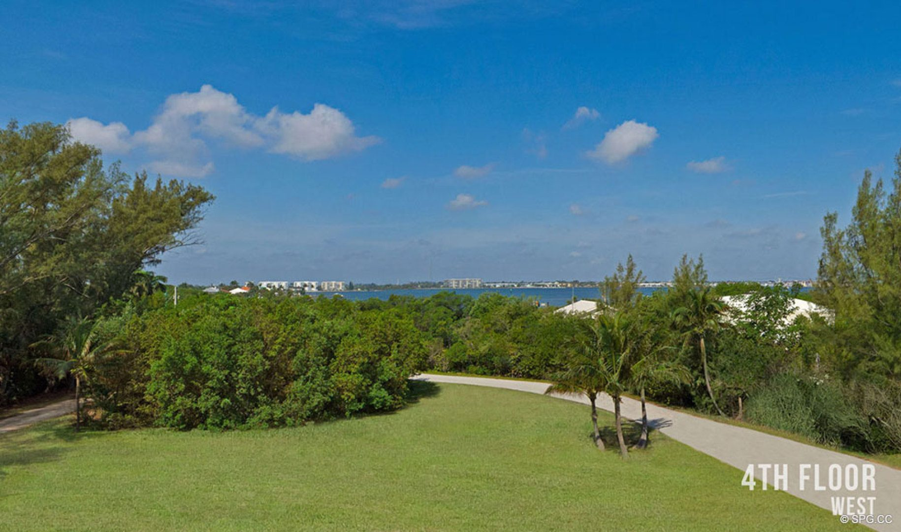 Fourth Floor Western Views from 5000 North Ocean, Luxury Oceanfront Condos in Riviera Beach