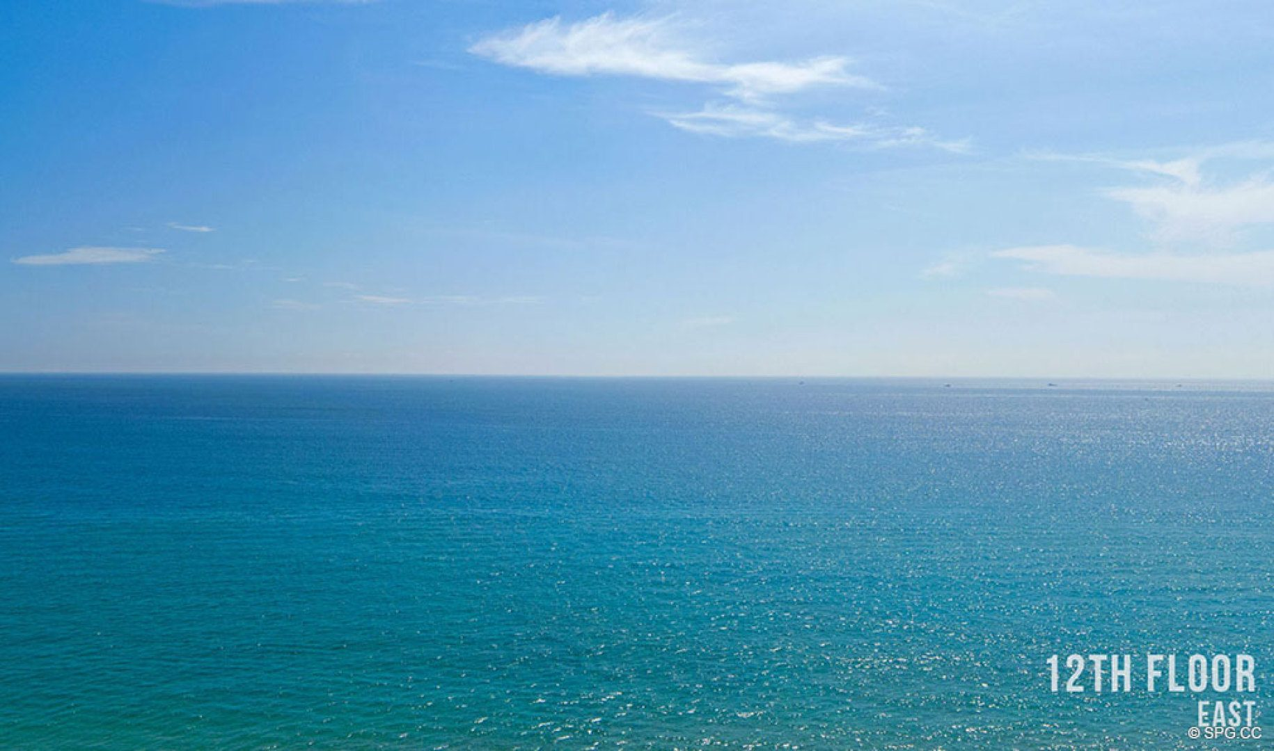 Twelfth Floor Eastern Views from 5000 North Ocean, Luxury Oceanfront Condos in Riviera Beach