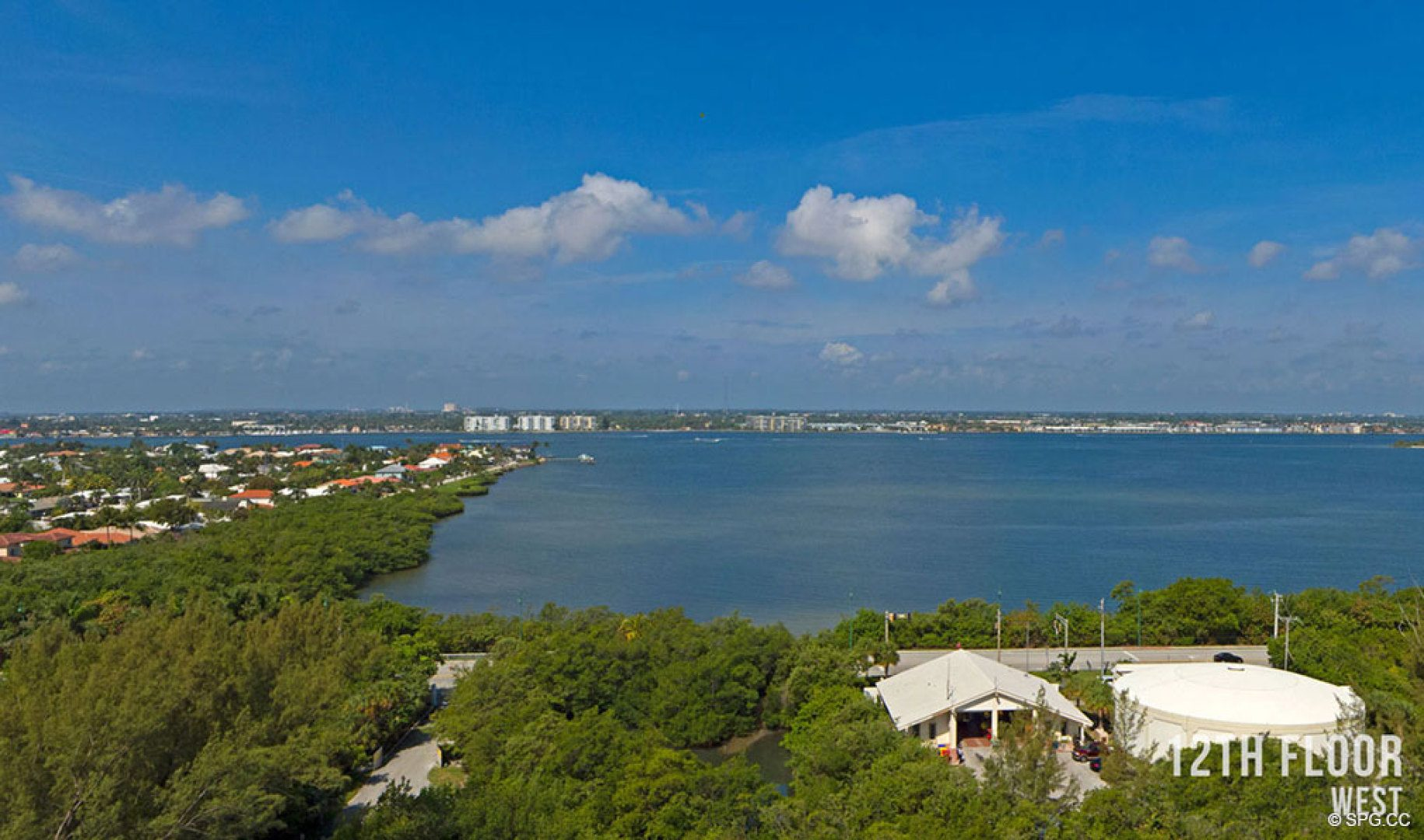 Twelfth Floor Western Views from 5000 North Ocean, Luxury Oceanfront Condos in Riviera Beach