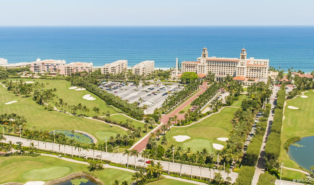 World-Class Golf Course in front of Breakers Row, Luxury Oceanfront Condos in Palm Beach, 33480