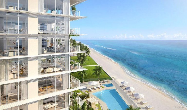 Ocean View from 3550 South Ocean, Luxury Oceanfront Condos in Palm Beach, Florida 33480