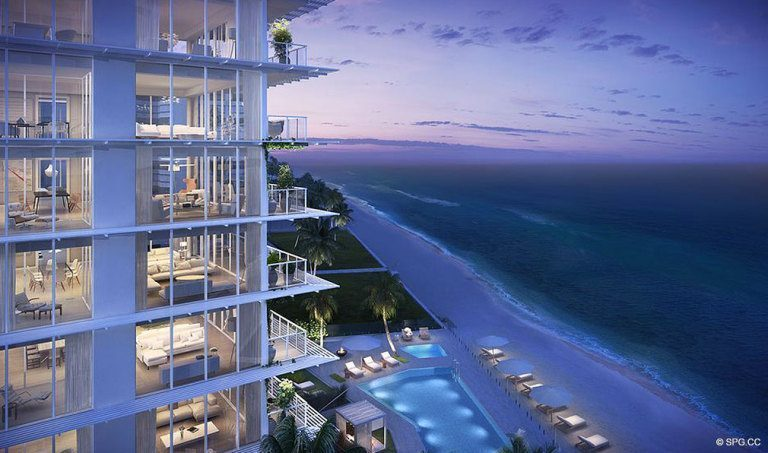 Evenings at 3550 South Ocean, Luxury Oceanfront Condos in Palm Beach, Florida 33480