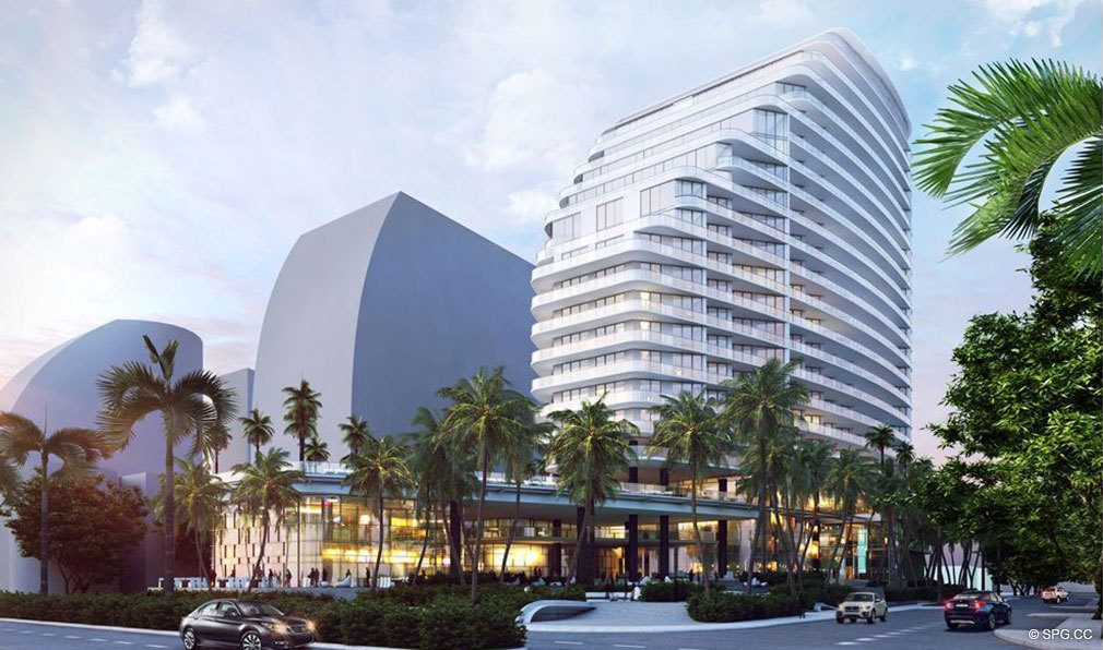 The Four Seasons Private Residences Fort Lauderdale, Luxury Oceanfront Condos in Fort Lauderdale, Florida 33304.