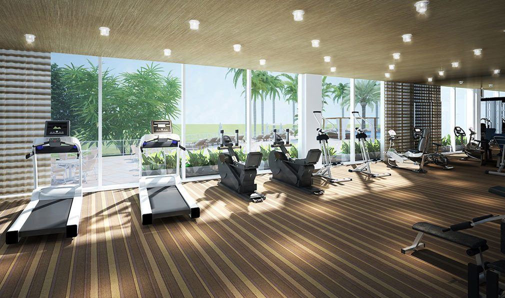 Fitness Center inside Akoya Boca West, Luxury Condos in Boca Raton, Florida 33432