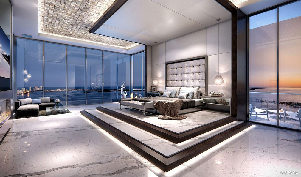 Lavish Master Suites at Echo Brickell, Seaside Luxury Condos in Miami, Florida 33131