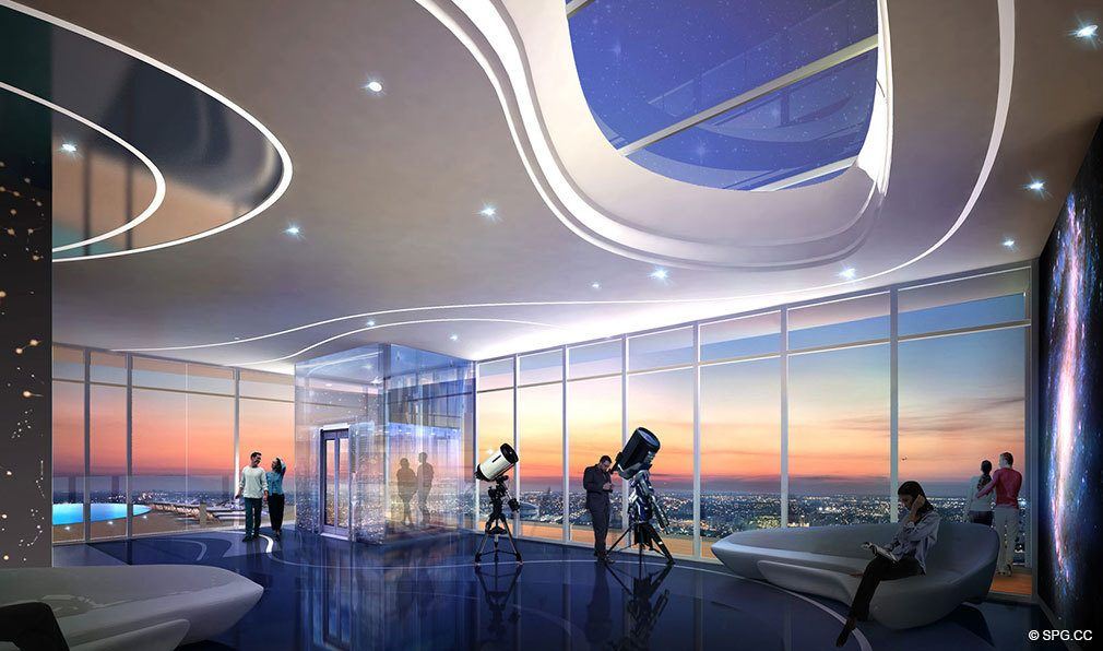 Observatory at Paramount Miami Worldcenter, Luxury Seaside Condos in Miami, Florida 33132.