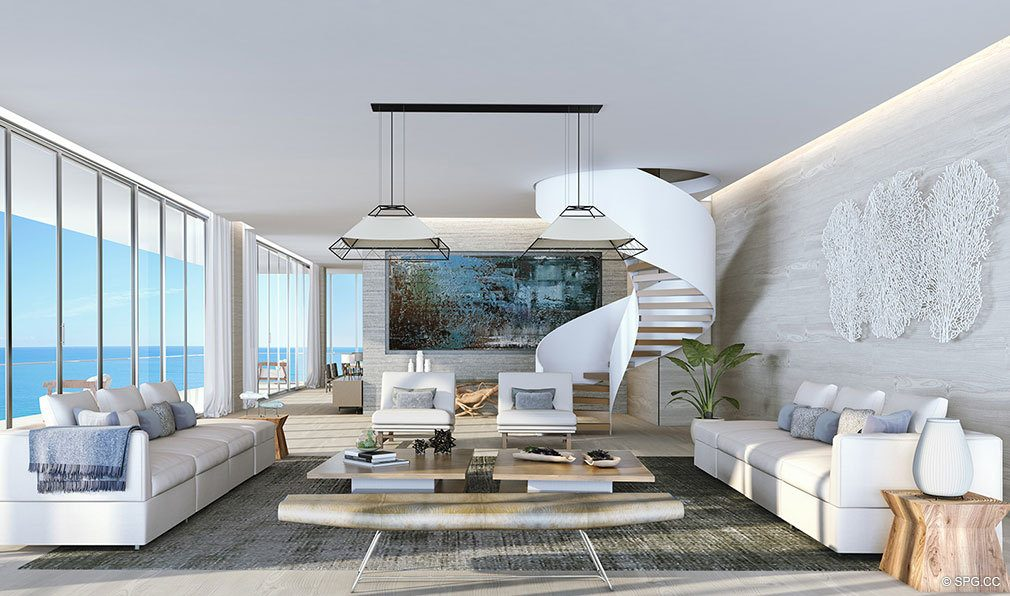 Penthouse Living at Auberge Beach Residences, Luxury Oceanfront Condos in Ft Lauderdale