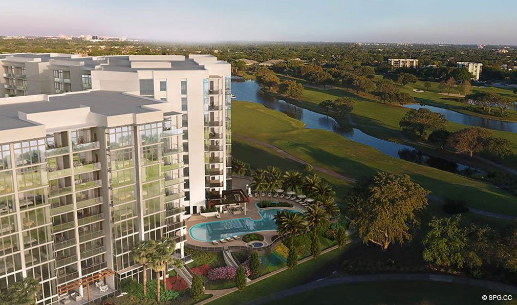 Gorgeous Golf Course Views from Akoya Boca West, Luxury Condos in Boca Raton, Florida 33432