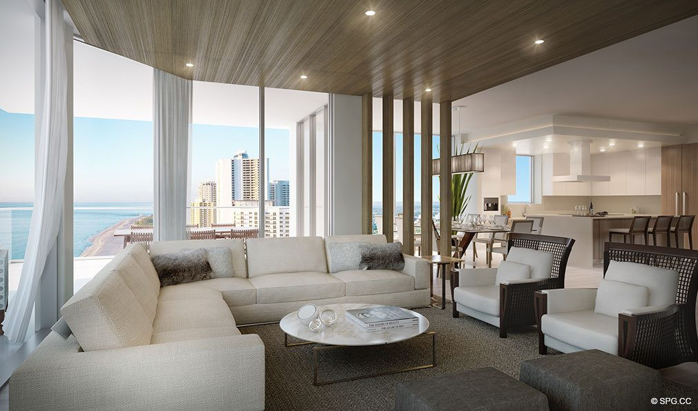 East Facing Residences at VistaBlue Singer Island, Luxury Oceanfront Condos in Riviera Beach, Florida 33404