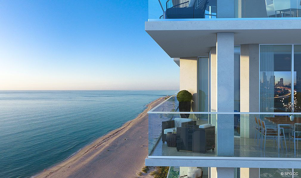 East Oceanfront Terraces at VistaBlue Singer Island, Luxury Oceanfront Condos in Riviera Beach, Florida 33404