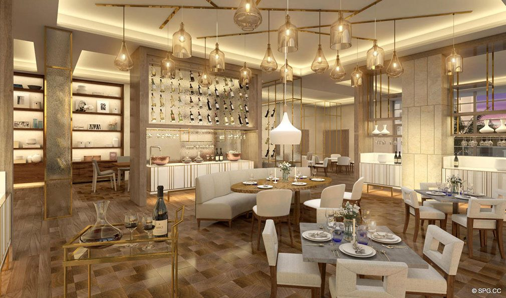 Restaurant in Amrit Ocean Resort and Residences, Luxury Oceanfront Condos on Singer Island, Florida