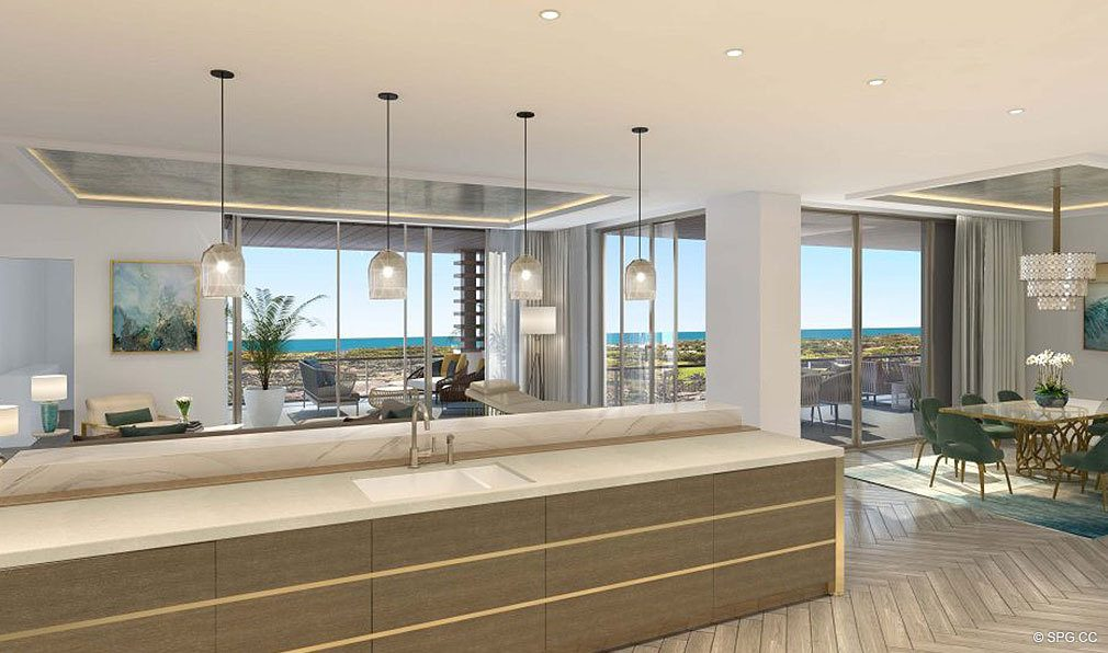 Expansive Residences with Gourgeous Views at The Residences at Mandarin Oriental, Luxury Condos in Boca Raton, Florida