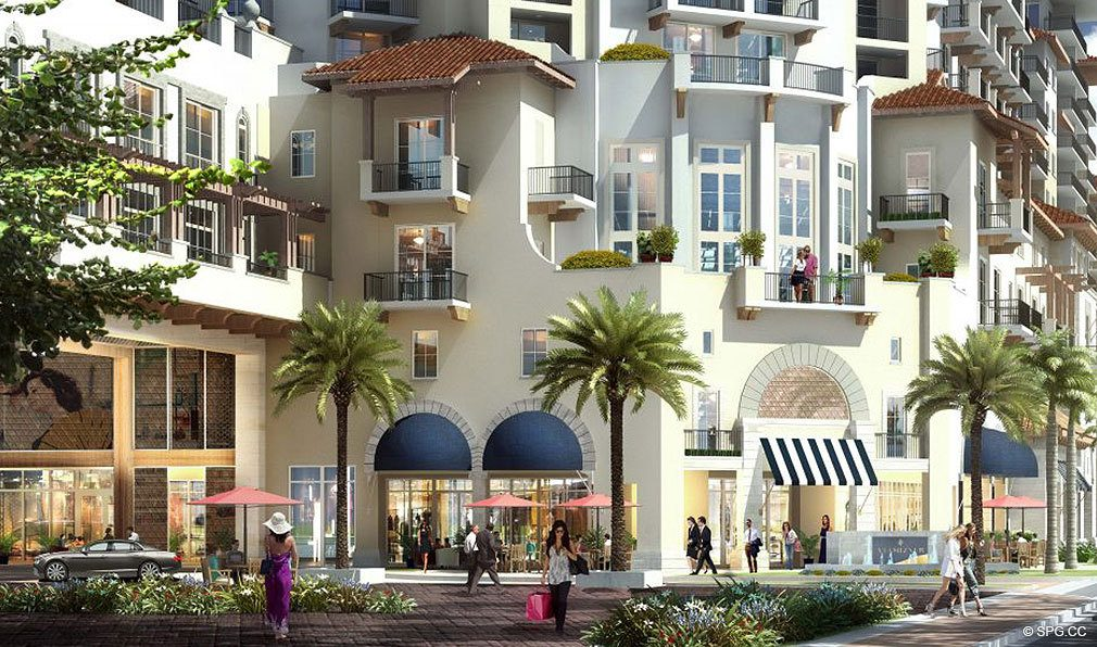 The Via Mizner Shoppes at The Residences at Mandarin Oriental, Luxury Condos in Boca Raton, Florida