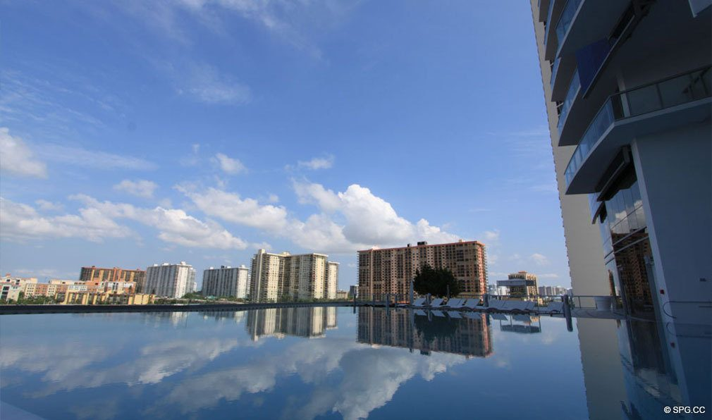 Pool Views from Jade Ocean, Luxury Oceanfront Condos, Sunny Isles Beach, Florida 33160