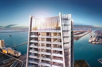 Thumbnail for  One Thousand Museum, Luxury Waterfront Condominiums Located at 1000 Biscayne Boulevard, Miami, Florida 33132