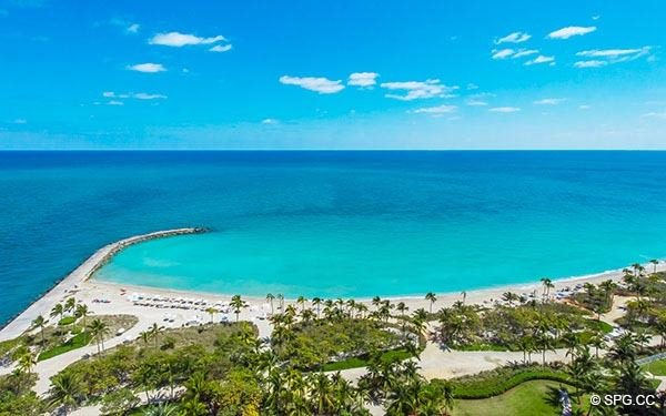 One of a Kind Ocean Views from Residence 1703 at One Bal Harbour, Luxury Oceanfront Condominiums in Miami, Florida 33154
