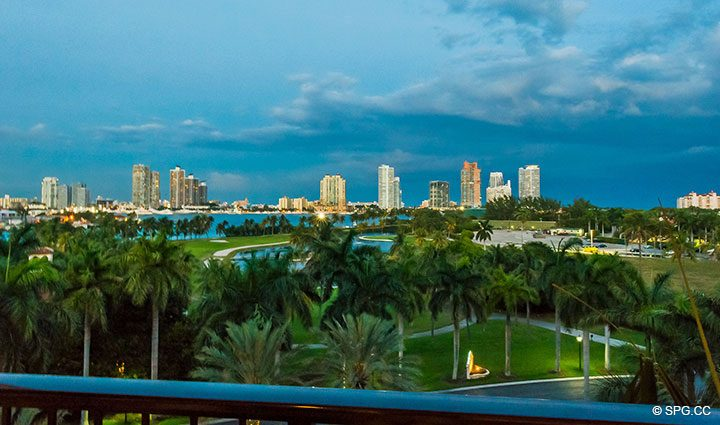View of South Beach, Miami from Luxury Oceanfront Condo Residence 5152 Fisher Island Drive, Miami Beach, FL 33109