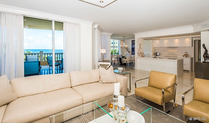 Expertly Designed Residence 5D, Tower I at The Palms, Luxury Oceanfront Condominiums Fort Lauderdale, Florida 33305
