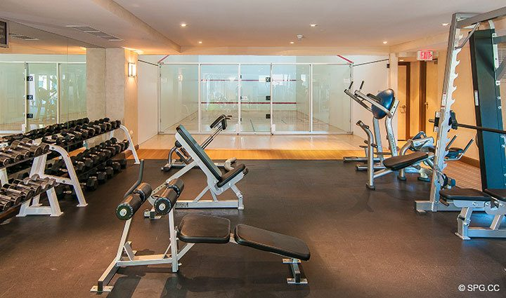 Fitness Center inside The Palms, Luxury Oceanfront Condominiums Fort Lauderdale, Florida 33305