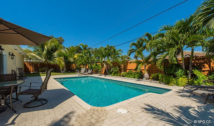 Relaxing Pool for 1911 NE 56th Court, Fort Lauderdale, Florida 33308