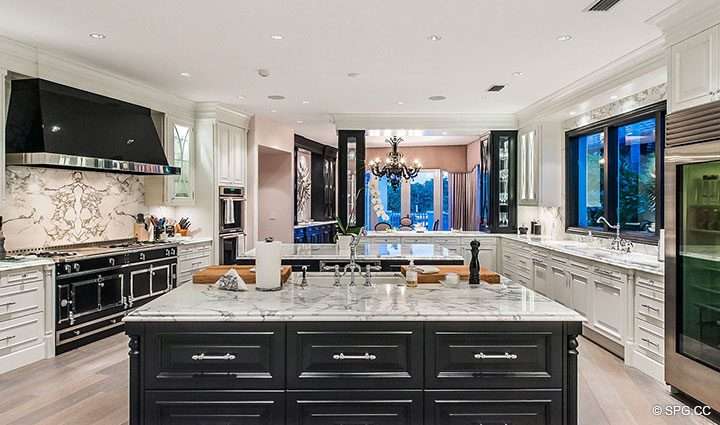 Gorgeous Gourmet Kitchen in Estate Home 709 Idlewyld Drive, Fort Lauderdale, Florida 33301