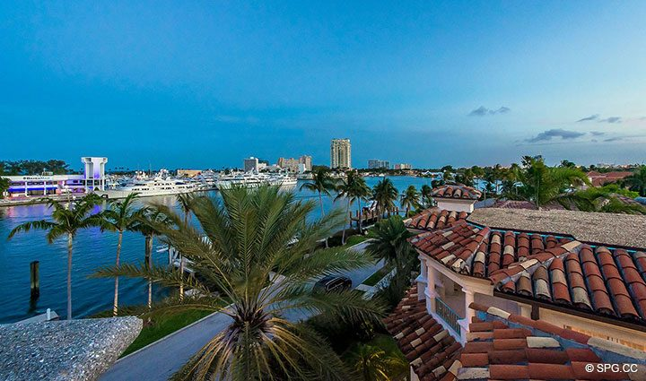 Splendid Views from Estate Home 709 Idlewyld Drive, Fort Lauderdale, Florida 33301
