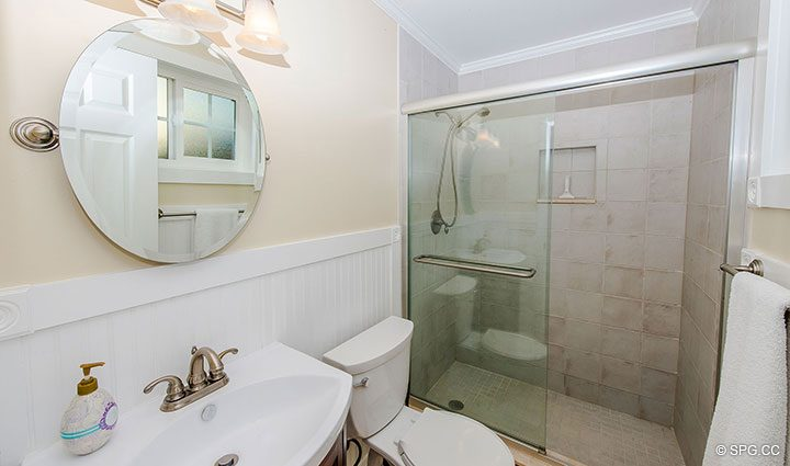 Guest Bath inside 1911 NE 56th Court, Fort Lauderdale, Florida 33308