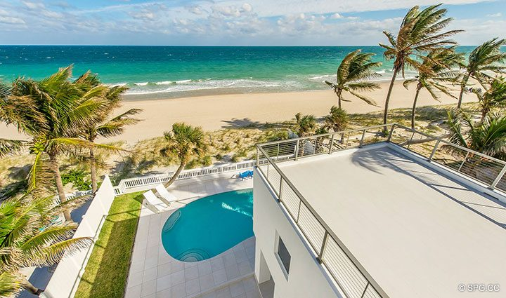 Gorgeous 360 Degree Views from Luxury Oceanfront Home, 2712 North Atlantic Boulevard, Fort Lauderdale, Florida 33308