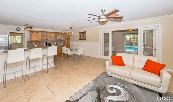 Spacious Living Area in 1911 NE 56th Court, Fort Lauderdale, Florida 33308