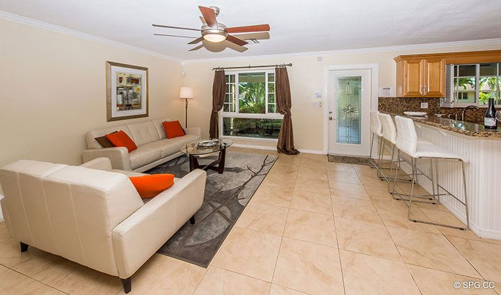 Living Room inside 1911 NE 56th Court, Fort Lauderdale, Florida 33308